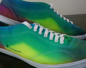 Tyedye shoes Womens or Mens