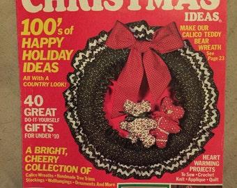 Vintage Christmas Craft Magazine