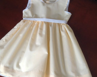 Girl dress size 5 years made by hand