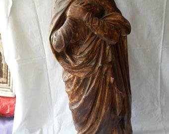 Wooden Madona