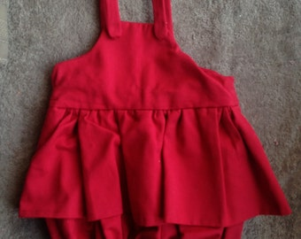 Romper suit skirt