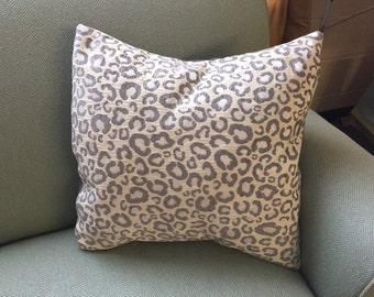"""Pillow Sham Cover - Cheetah 20"""""""