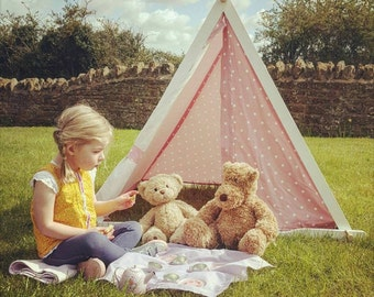 Design Your Own Tent!!! Customisable Play Tents - Just pick a frame, add a canopy and any extras. Simples! (CE Marked)