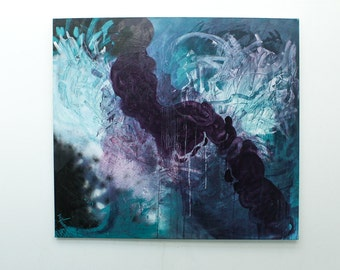 Untitled (Achilles Heel), an original abstract painting