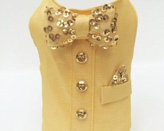 Golden Summer Vest