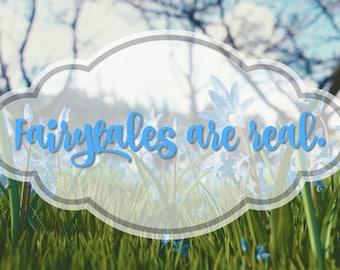 "Printable Art ""Fairytale"""