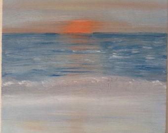 Orange Sunset from Pelican Hill, Newport Beach