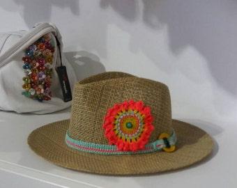 Hat full of color fresh