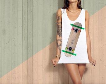 Tape Skateboard T-shirt