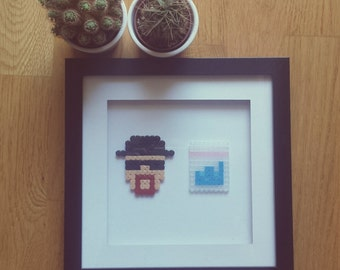 Breaking bad 3D picture frame