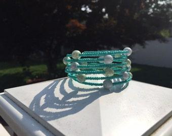 Green Bubble Wrap Bracelet