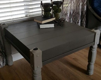 Vintage Grey and Graphite Coffee table