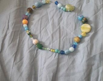 Bracelets and a necklace