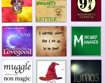 Harry Potter magnets Set