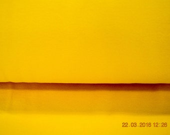 Fine yellow rib fabric