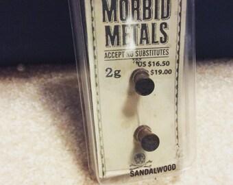 Size 2 sandalwood plugs