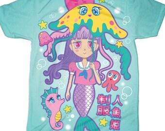 Mermaid School Tee