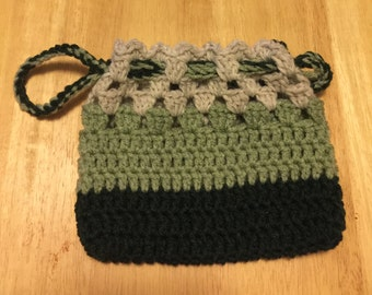 Crochet Drawstring Purse