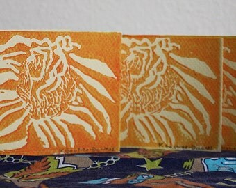 Small Orange Sunflower Cards (3 pack)