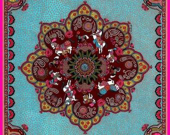 "Print Art ""Persia"" - Limited Edition Print - Gouache"