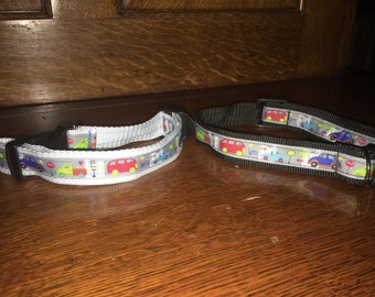 Black Beep beep dog collar