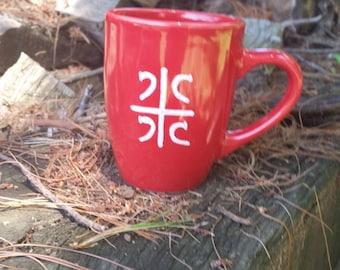 Serbian coffee mug