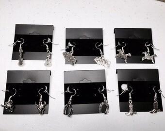 Western Theme Earrings