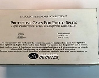 Creative Memories box of 5 Protective Cases for Photo Splits 6098230700