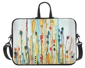 """Wildflower Laptop Bag 14"""" or 17"""""""