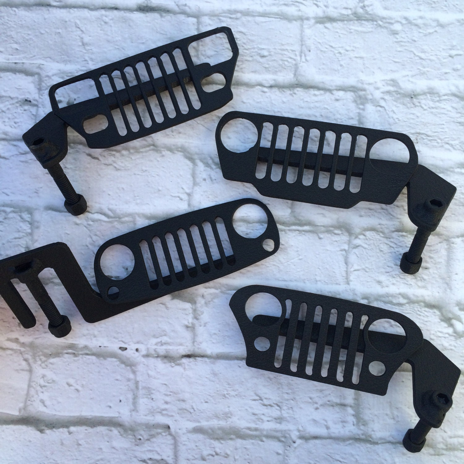 cj yj tj or j.k jeep grill foot pegs