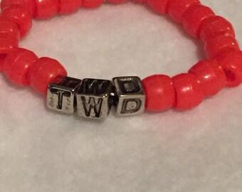 """The Walking Dead Fandom """"TWD"""" Bracelet"""