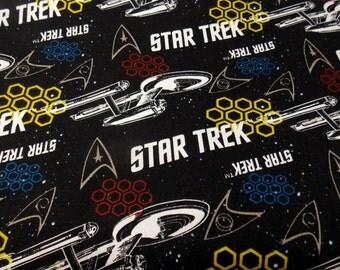 Star Trek Fabric Trekkies Star Trek Movie Fabric Enterprise Fabric Outer Space Fabric Craft Fabric Cotton Fabric