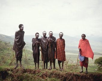 Coming of Age, Maasai, Tanzania, East Africa