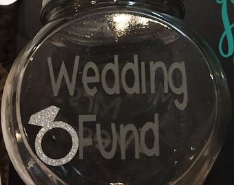 Wedding fund jar