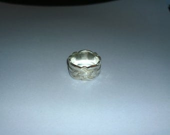 Handmade one of a kind 925 Silver ring