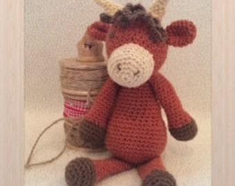 Amigurumi crochet - Highland Cow