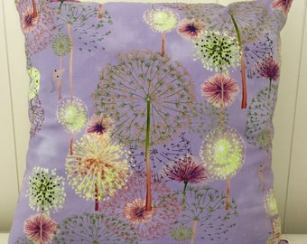 Dandelion decorative pillow