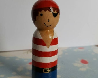 Any 6 wooden peg dolls in our shop