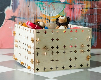 Toys box Wooden constructor Playhouse Biuilding bloks Wooden toys Educational toys Montessori toys Eco-friendly toys wooden blocks