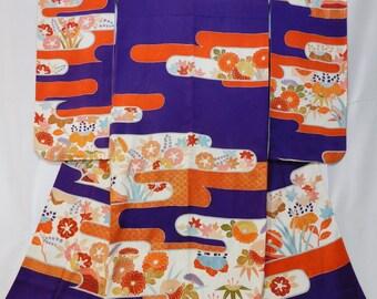 Japanese Kimono, Jyusanmairi Furisode