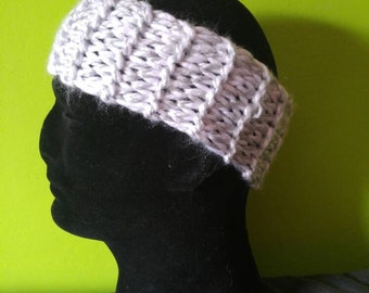 Knitted headband/headwrap.