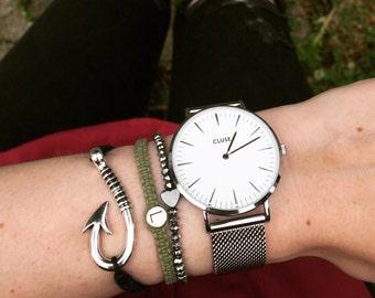 Fishing hook bracelet