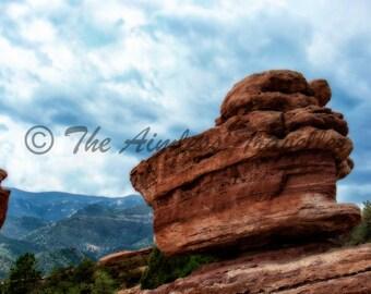 Garden of the Gods Surreal, Colorado Springs, Colorado
