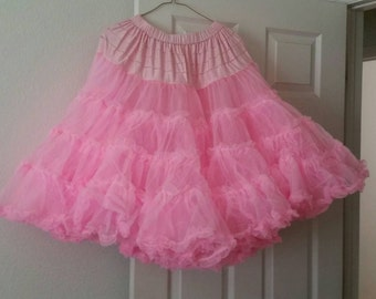 Vintage Pink Petticoat (Can Can)
