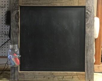 Pallet chalkboards