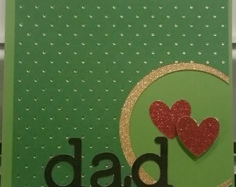 Dad Love-Happy Father's Day- Card