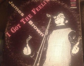 James Brown- I Got The Feelin' King 1031 Stereo VG+