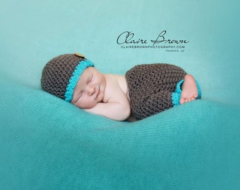 Crochet Pants Pattern, Newborn Pants Pattern, Prop Pants Pattern, Crochet Prop Pattern, Crochet Pattern