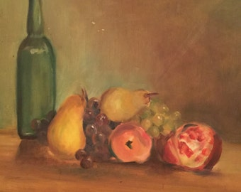 MCM Fruit Still Life Painting