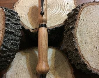 Hand made maple twist pen